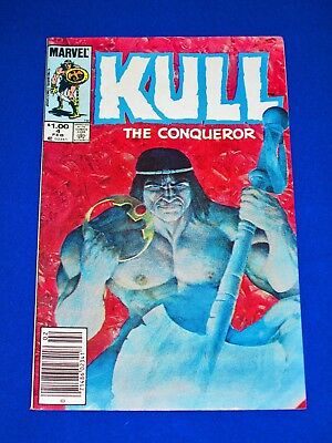 KULL THE CONQUEROR Issue #4 [Marvel 1984] VF- or Better