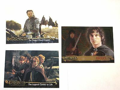 Lord Of The Rings Promo 3 Card Lot # P1 P2 Art Evolution! Lotr! King Fellowship
