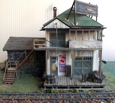 Sierra West Scale Models Ej Wiley General Store Diorama Ho/hon3 Built As Jens' E