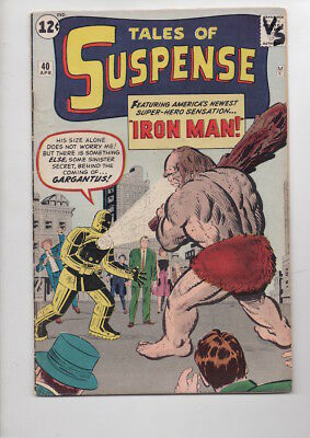 TALES of SUSPENSE #40/from 1963/2nd Silver Age IRON MAN/Way below guide!