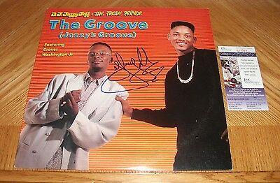 DJ Jazzy Jeff & The Fresh Prince -  The Groove Vinyl LP Record *Signed* w/JSA