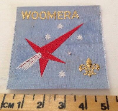 Woomera Scout Badge
