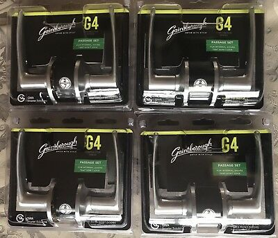Gainsborough passage lever sets ambassador series satin chrome finish x4 $80 WOW