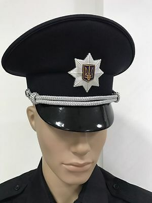 HAT CAP POLICE UKRAINE ( 2016 - 2017 New Current Style)  ORIGINAL