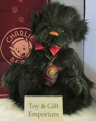 SPECIAL OFFER! Charlie Bears LIQUORICE (Brand New Stock!)