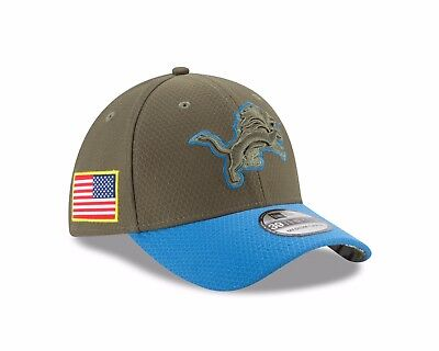 brand new 14db5 5bff8 ... low price detroit lions new era 2017 salute to service 39thirty flex  hat olive 723ce 2d6c3