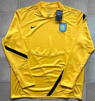 Nike Aston Villa 11/12 Player Issue Midlayer Training Jersey. BNWT, Size XXL.