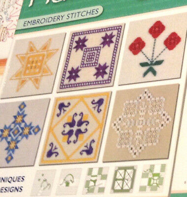The New Anchor Book Of Hardanger Embroidery Stitches Techniques and Designs