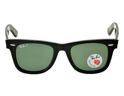 Ray Ban RB2140 Original Wayfarer Classic 901/58 Black Frame/Polarized Green 50mm
