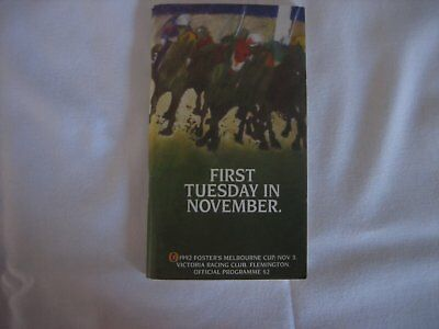 1992 MELBOURNE CUP Race Book