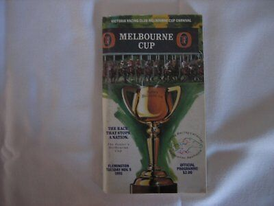 1991 MELBOURNE CUP Race Book