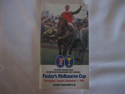 1988 MELBOURNE CUP Race Book