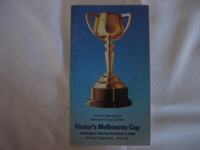 1985 MELBOURNE CUP Race Book