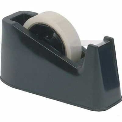 Sellotape Dispenser Heavy Duty Desktop Holder Small Large Roll Reel Tape Packing