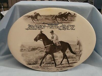 Race Horse Winners Plate (Plaque) - Donaghy Approved Handicap Pt Augusta 1957