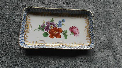 Collectable China Pin Dish, Flower Design