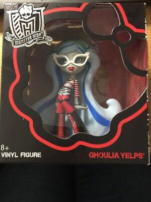 "Monster High Vinyl Figure Ghoulia Yelps Mattel 4"" Tall New Sealed Fast Free P&P"