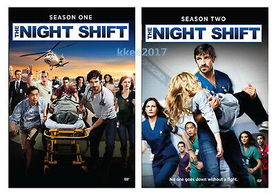 The Night Shift: TV Series Complete Seasons 1 & 2 Box / DVD Set Brand New