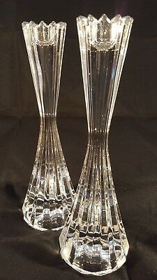 Mikasa Crystal Candle Stick Holders