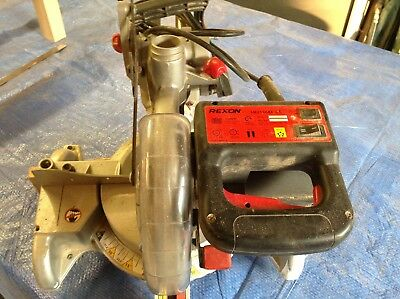 sliding mitre saw recon 305 sliding cut good condition twin speed with laser
