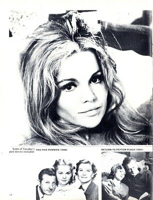 PP73/3p18 THE ANGUISH OF TUESDAY WELD ARTICLE & PICTURE(S)