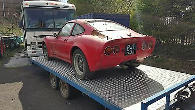 opel gt for restoration project classic car