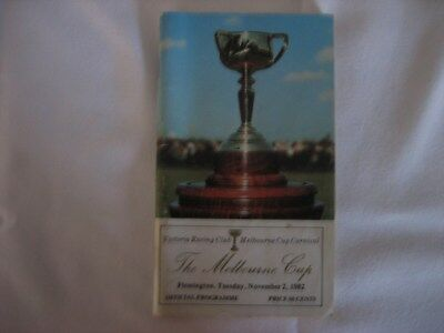 1982 Melbourne Cup Race Book