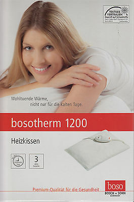 bosotherm 1200 Heating Cushion 30x40cm with Washable bw-bezug - NEW V Med FH