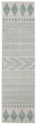 Hallway Runner Rug Sky Blue Hall Runner Floor Carpet Mat 3 Meters Long Modern