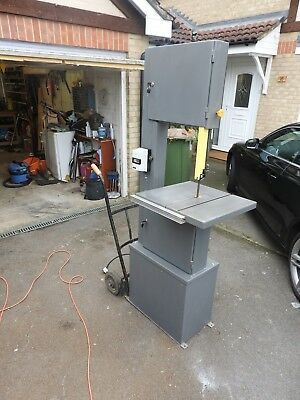 startrite/record  bandsaw 301 single phase reconditioned