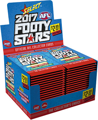 2017 Afl Select Footy Stars Trading Cards  * Free Post *