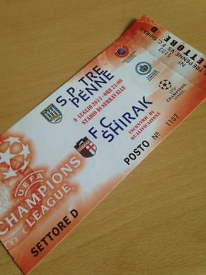 2013/14 Sp Tre Penne V Fc Shirak - Champions League - Used Ticket