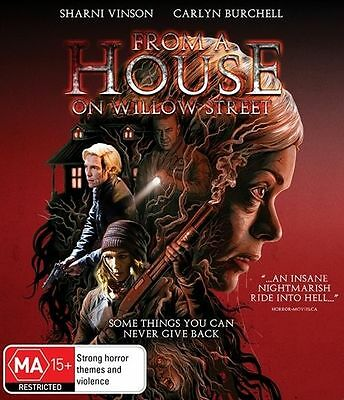From A House On Willow Street (Blu-ray) Sci-fi/Horror [Region B] NEW/SEALED
