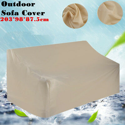 Sofa Cover Waterproof Patio Outdoor Backyard Bench Protection Furniture USA MAX