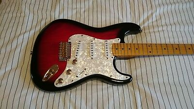 Custom Stratocaster With Fender Parts