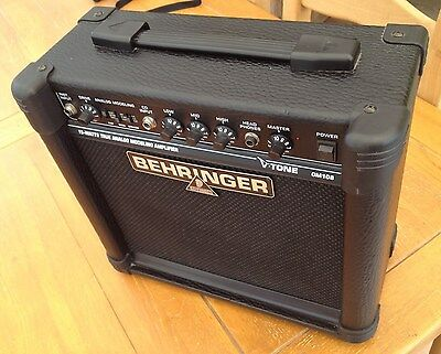 Behringer GM108 Virtual Modelling Guitar Amplifier In Very Good Condition