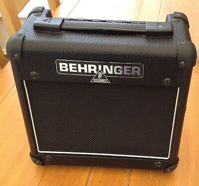 Used Behringer AC108 Valve Amplifier In Good Condition
