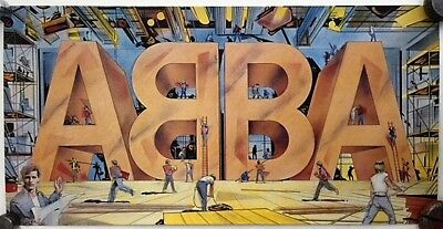 ABBA LIVE poster