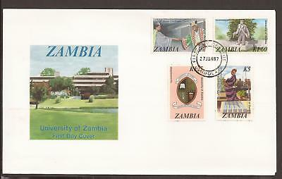Zambia 1987 FDC. University of Zambia