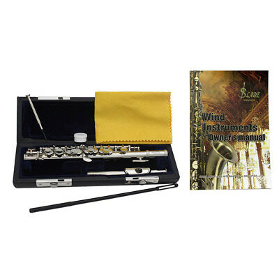 Standard C Key Cupronickel Tube Piccolo Half-size Flute for School Band