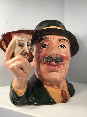 Royal Doulton Character / Toby Jug - The Collector - D6796