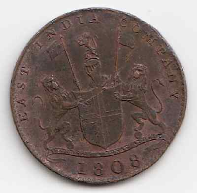 1808 East India Company X Cash Coin (Taboo) Nice for its age Take a look 1