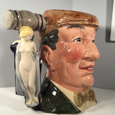 Royal Doulton Character / Toby Jug - The Auctioneer  - D6838