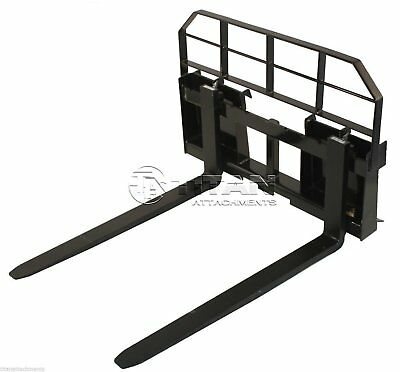 """48"""" Pallet Fork Attachment 5500lb Capacity Tractor Forks skid steer quick tach"""