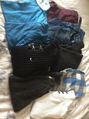 Men's Medium Bundle Jeans 32-32 Jumpers And T Shirts
