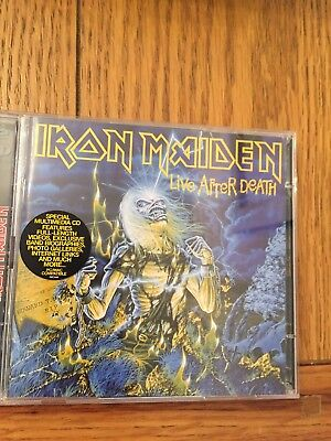 Iron Maiden Live After Death Cd