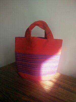 HANDMADE BAGS wholesale lot of 10 assorted bags.