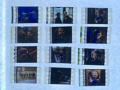 CHILD'S PLAY 3 (1991) Movie 35mm Film Cells filmcell film cell Chucky LOT #1