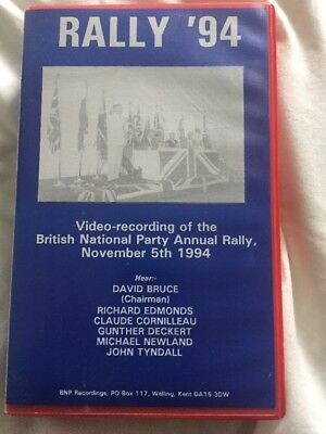 British National Party VHS Video Annual Rally 1994 National Front NF
