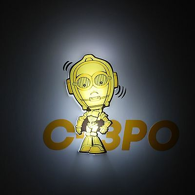 veilleuse star wars C-3PO 3D deco light